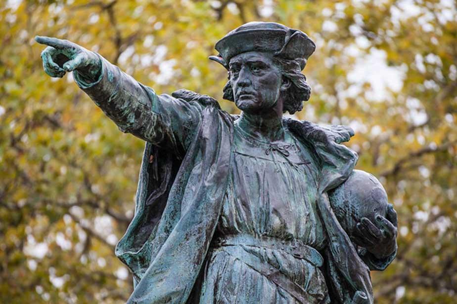 Cristóbal Colón fue considerado durante años un héroe en los Estados Unidos