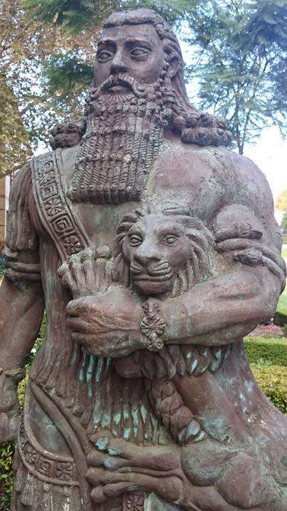 Estatua de Gilgamesh