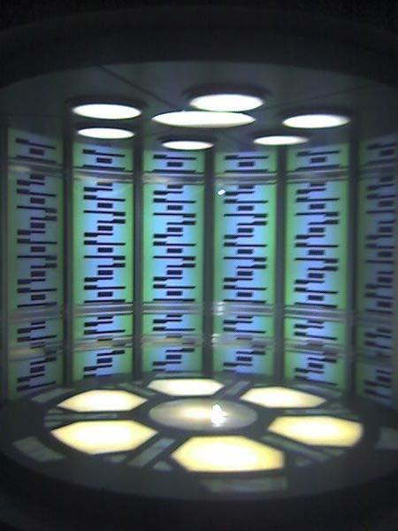 Un «teletransportador» de la serie de ciencia ficción Star Trek