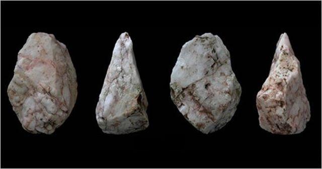 Las herramientas de piedra encontradas en Creta son pruebas de los primeros viajes marinos