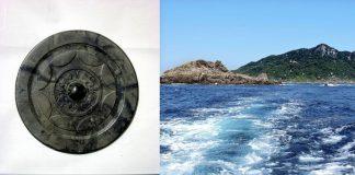 Espejo chino de 1.900 años de antigüedad es encontrado intacto en isla japonesa
