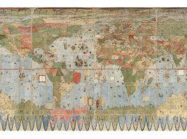 Mapa del siglo XVI es ensamblado por primera vez