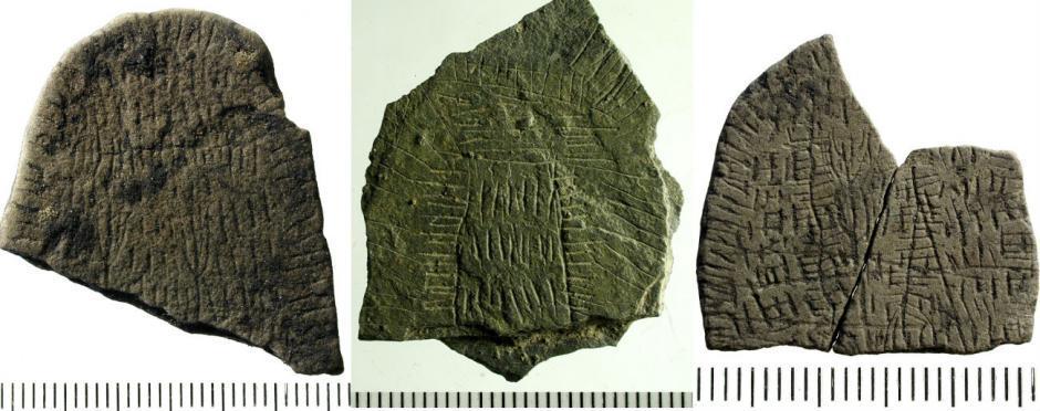 Piedras de sol de la isla de Bornholm