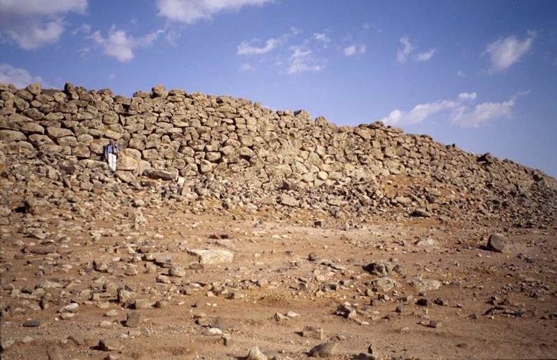 La muralla de Rubba