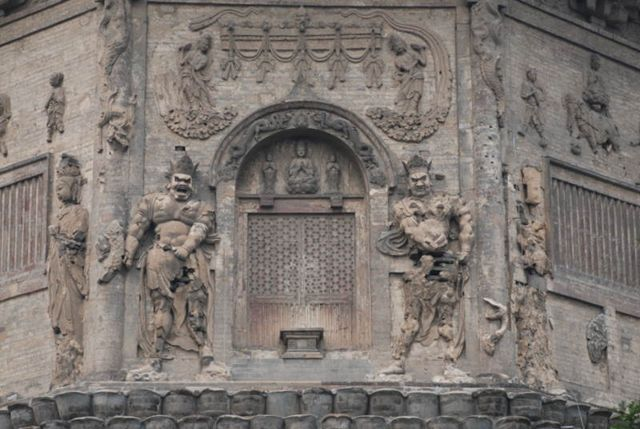 El Templo de la Paz Celestial en Beijing, el más antiguo y uno de los únicos restos sobrevivientes de la capital de la dinastía Liao de Beijing