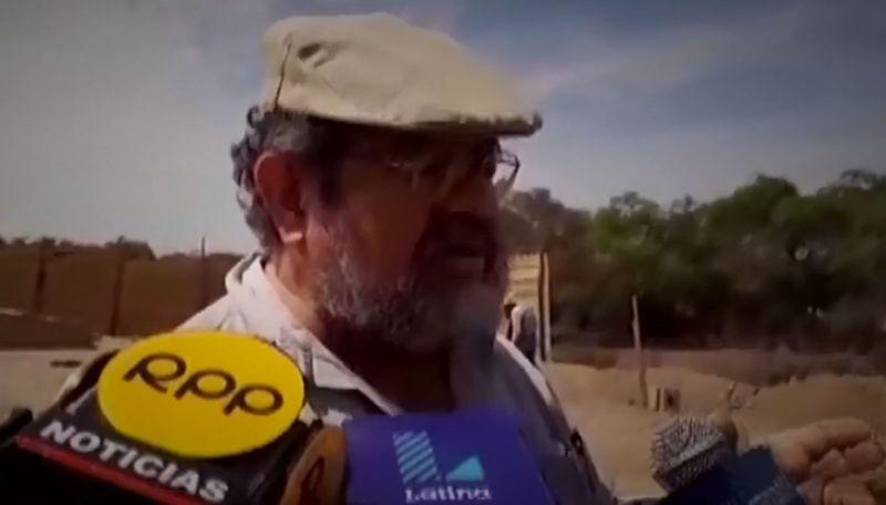 Arqueólogo Walter Alva