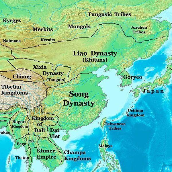 El estilo de expansión de la Dinastía Liao sirvió como una plantilla inicial para los conquistadores mongoles posteriores