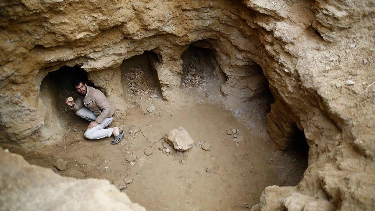 Hallan antiguas tumbas romanas en patios traseros de palestinos