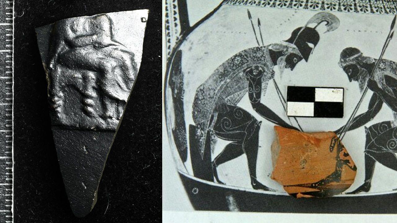 Hallan antiguo jarrón mostrando dioses griegos en el sitio donde Jesús hizo milagros
