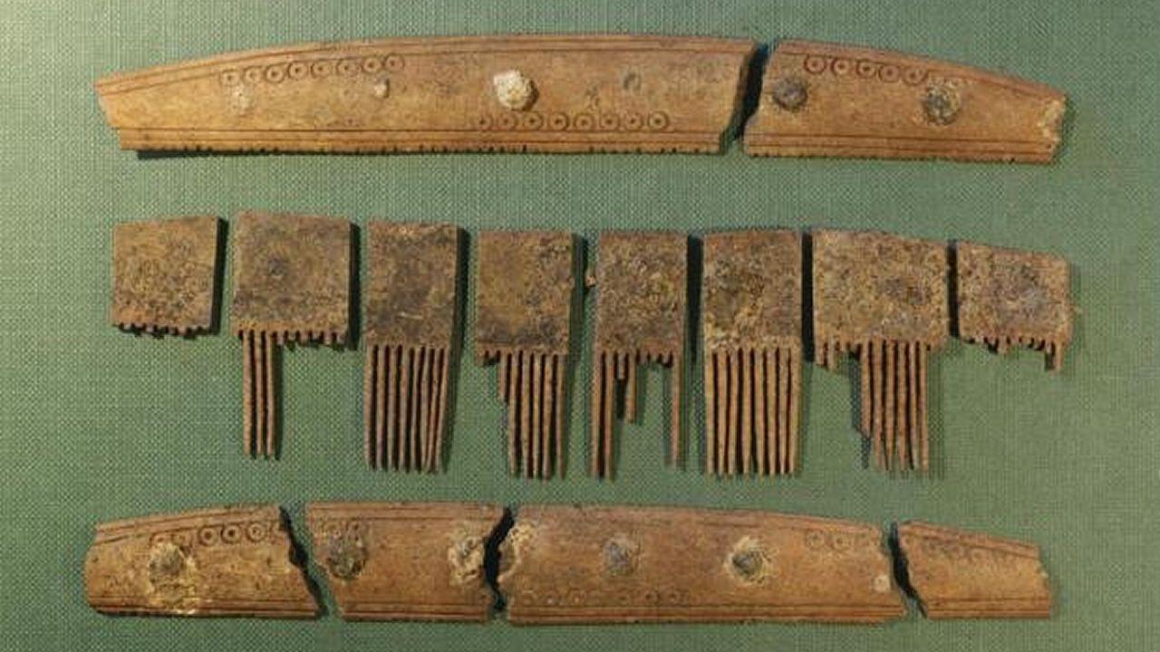 Hallan antiguos artefactos con runas vikingas únicas en Dinamarca