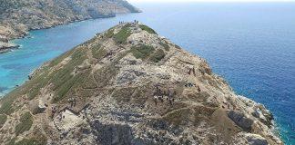 Hallan hazaña de ingeniería de 4.500 años en la antigua isla griega de la «pirámide»