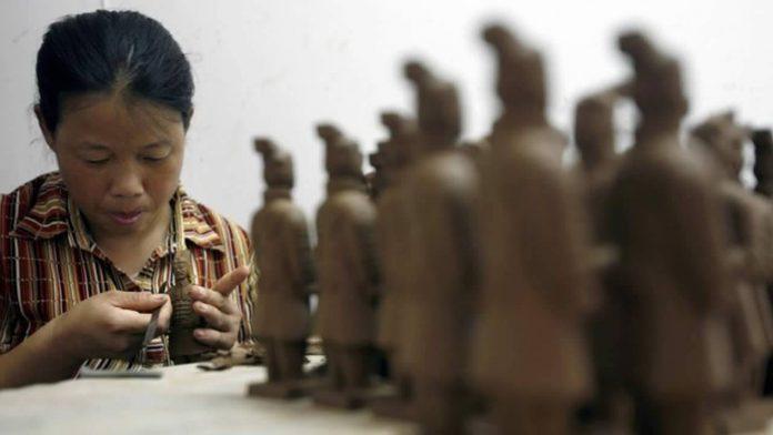 Artefacto del emperador chino resulta ser un raro fósil de la Edad de Hielo de 25.000 años de antigüedad