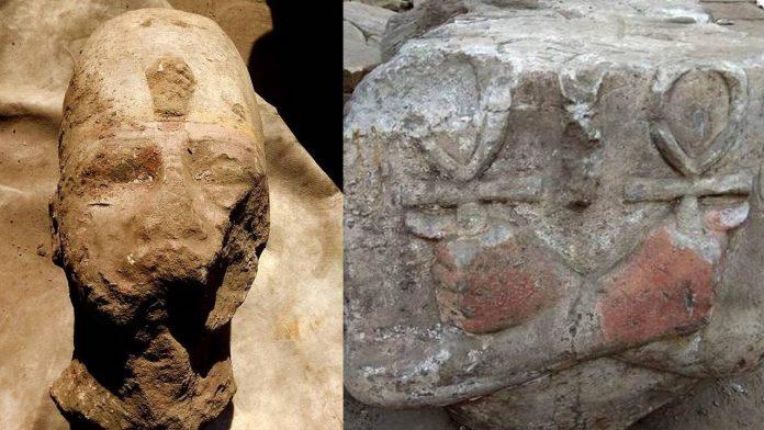 Descubren una estatua de Ramsés II en Asuán, Egipto