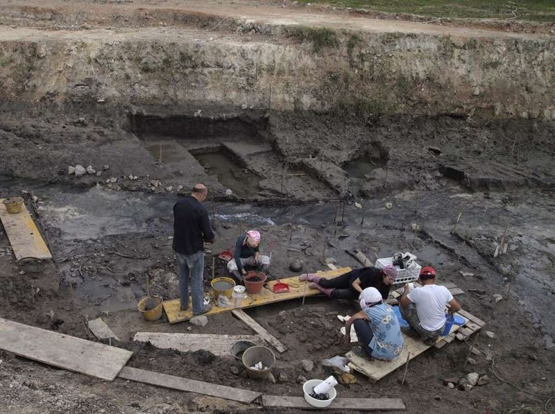 El sitio de Poggetti Vecchi en Toscana, Italia, continúa siendo excavado