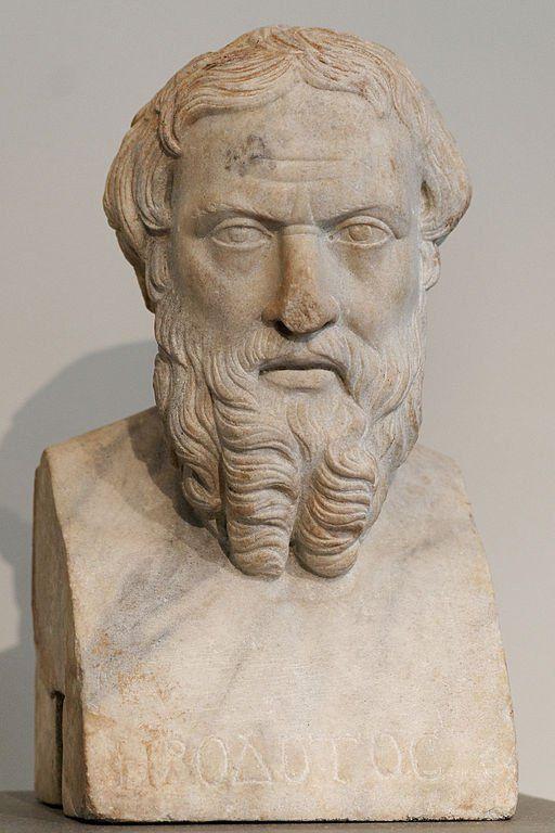 Busto de Heródoto. Museo de Arte Metropolitano de Nueva York