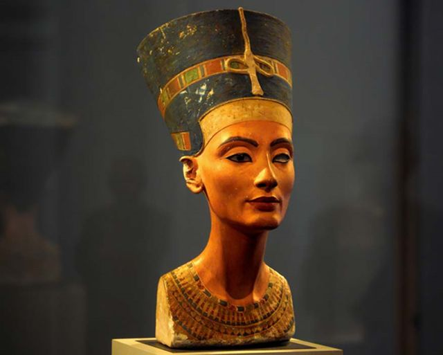 Busto de Nefertiti, Museo Egipcio de Berlín