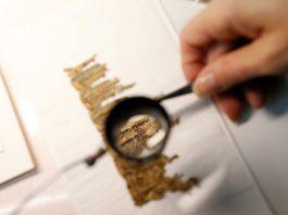 Muestran manuscrito del mar Muerto por primera vez, hallado hace 70 años