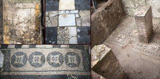 Hallan artefactos del antiguo Imperio Romano, incluidos mosaicos y habitaciones en el Metro de Roma