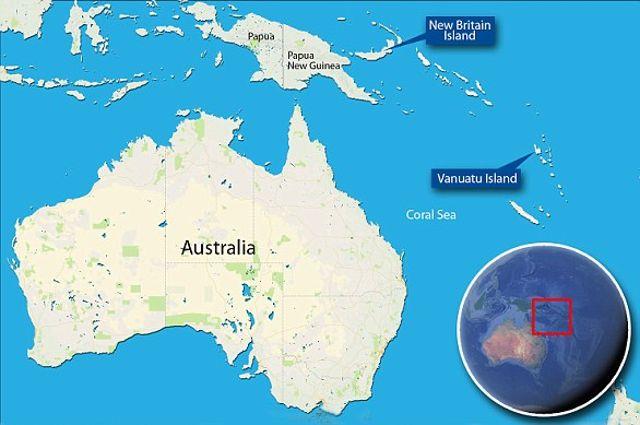 Los investigadores encontraron que la gente de Lapita primero fue a la isla de Nueva Bretaña antes de viajar a Vanuatu. Después de ir a Vanuatu, la gente de Nueva Bretaña les siguió de cerca