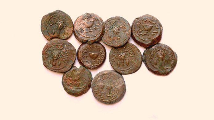 Hallan monedas de la «Gran Rebelión» contra Roma en Jerusalén