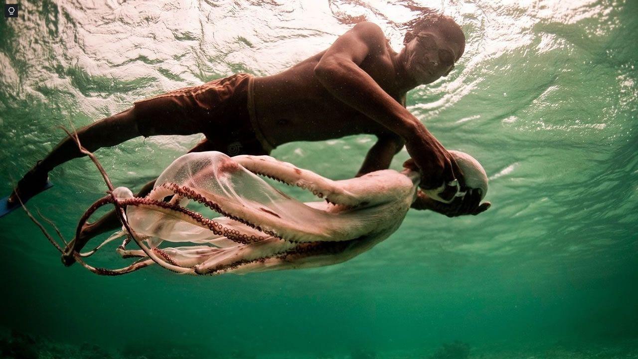 Humanos con adaptación genética al buceo, los «Nómadas del Mar»