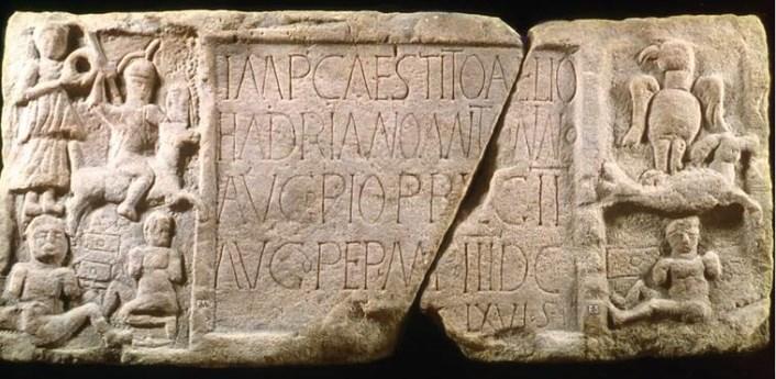 Summerston distance stone del muro de Antonine