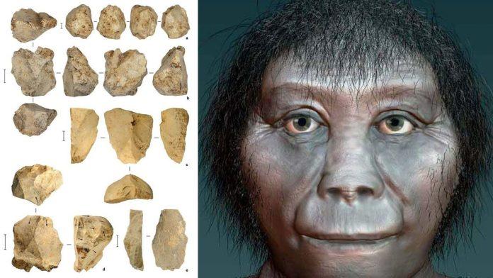Una especie desconocida hizo estas herramientas de piedra halladas en Sulawesi