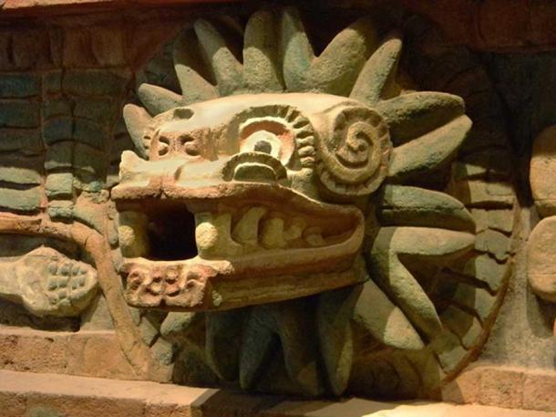 Dios azteca y gemelo de Xolotl, Quetzalcoatl en Teotihuacan