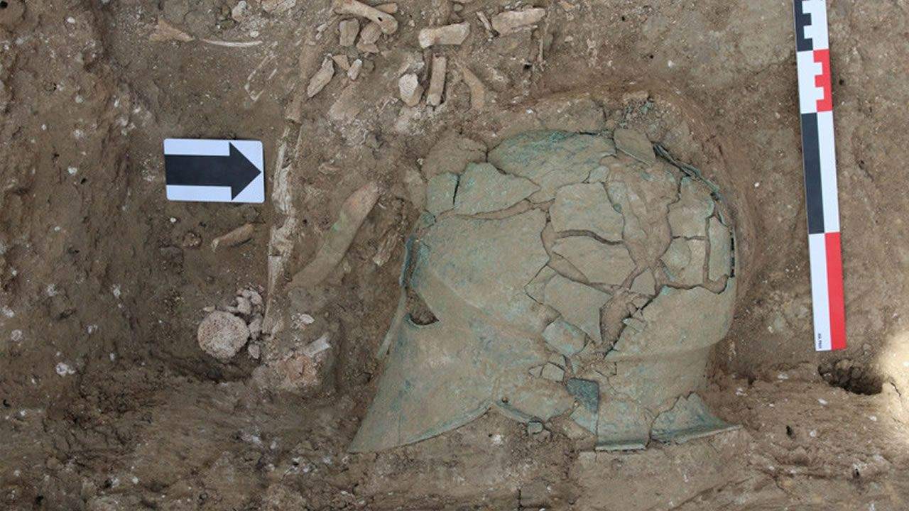 Hallan el «casco de la diosa Atenea» en el sudoeste de Rusia