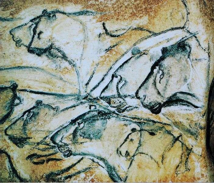 El friso de leones de la cueva de Chauvet presenta características similares al arte realizado por personas con autismo, incluido un impresionante realismo, un enfoque en las partes más que en el objeto como un todo, y formas superpuestas