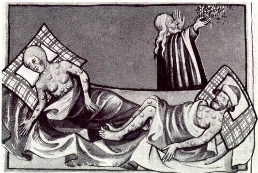 Miniatura de la Biblia de Toggenburg (Suiza) de 1411