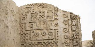 Hallan murales de hace 700 años en Chan Chan, Perú
