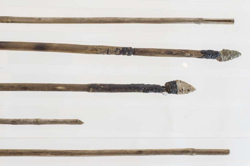 Llevaba consigo muchas flechas, pero una de ellas probablemente fue hecha por otra persona.
