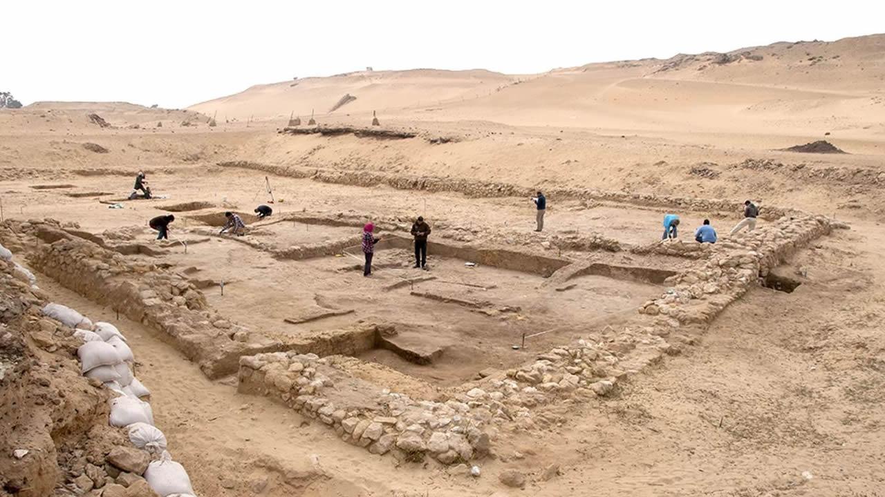Hallan dos casas de 4.500 años cerca de las Pirámides de Giza