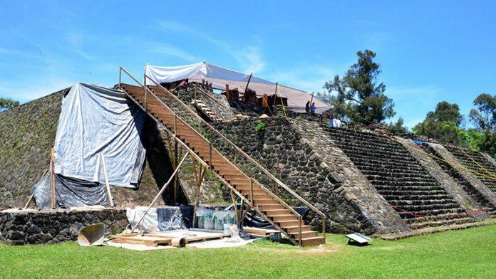 Sismo de México revela antigua estructura en interior de una pirámide