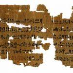 Antiguo papiro egipcio revela nuevas ideas sobre la medicina antigua