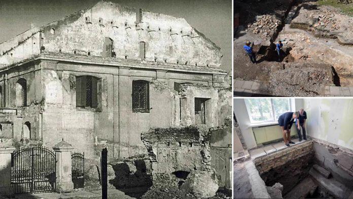 Arqueólogos descubren la «Gran Sinagoga» de Lituania que cayó en manos de los nazis