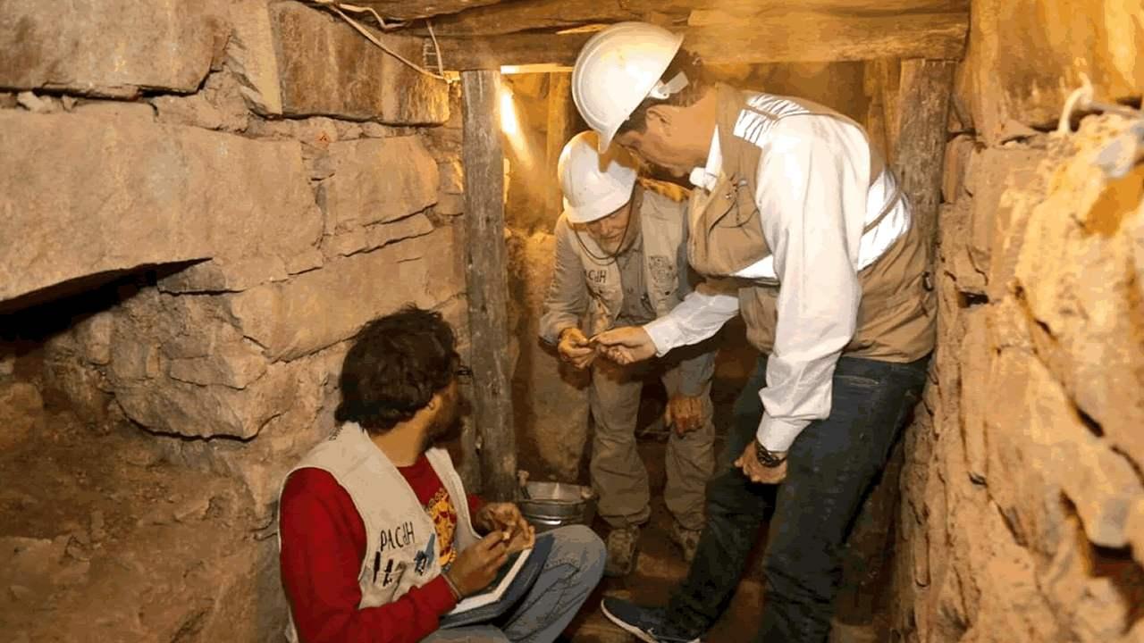 Hallan nuevos restos arqueológicos de la cultura Chavín en Perú