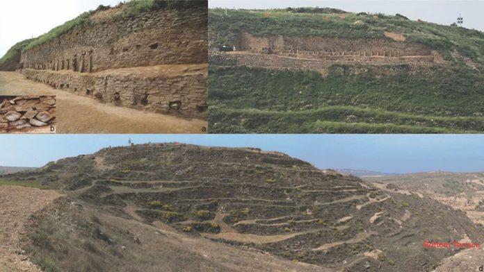 Hallan una pirámide de 4.300 años y 70 metros en China
