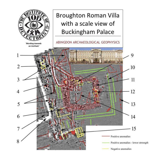 Escaneos realizados en el terreno muestran las estructuras enterradas.