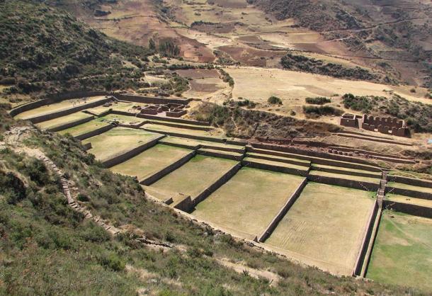 El espectacular yacimiento de Tipón, Perú