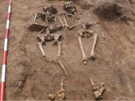 Hallan cementerio romano en sitio de construcción de viviendas en Inglaterra