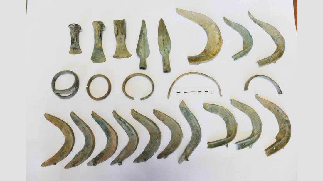 Hallan un increíble tesoro de la Edad de Bronce en República Checa