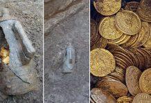 Hallan una gran cantidad de monedas de oro antiguas en un cine abandonado de Italia