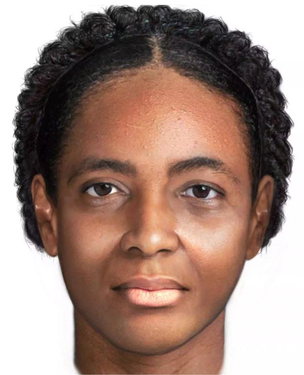 Una reconstrucción facial de «La mujer en el ataúd de hierro», creada por el especialista en imágenes forenses Joe Mullins