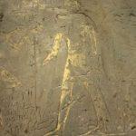 Hallan ilustraciones de dioses cocodrilo y faraones guerreros en antiguo templo egipcio