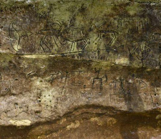 Hallan tallas antiguas en rocas cerca del río Éufrates