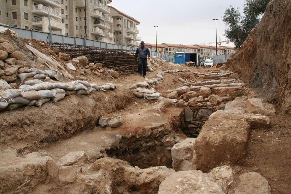 Las excavaciones arqueológicas en Binyanei Ha'Uma