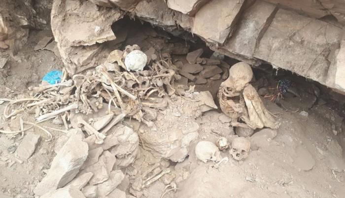 Seis tumbas de un cementerio prehispánico fueron saqueadas