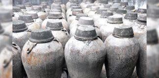Hallan vino de arroz de 2.000 años de antigüedad en China